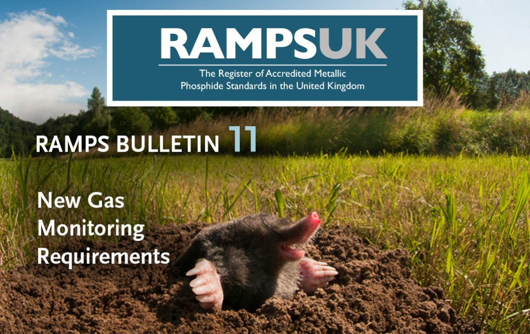 RAMPS new gas monitoring requirements