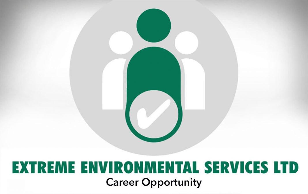 PEST CONTROL TECHNICIAN – EXTREME ENVIRONMENTAL SERVICES