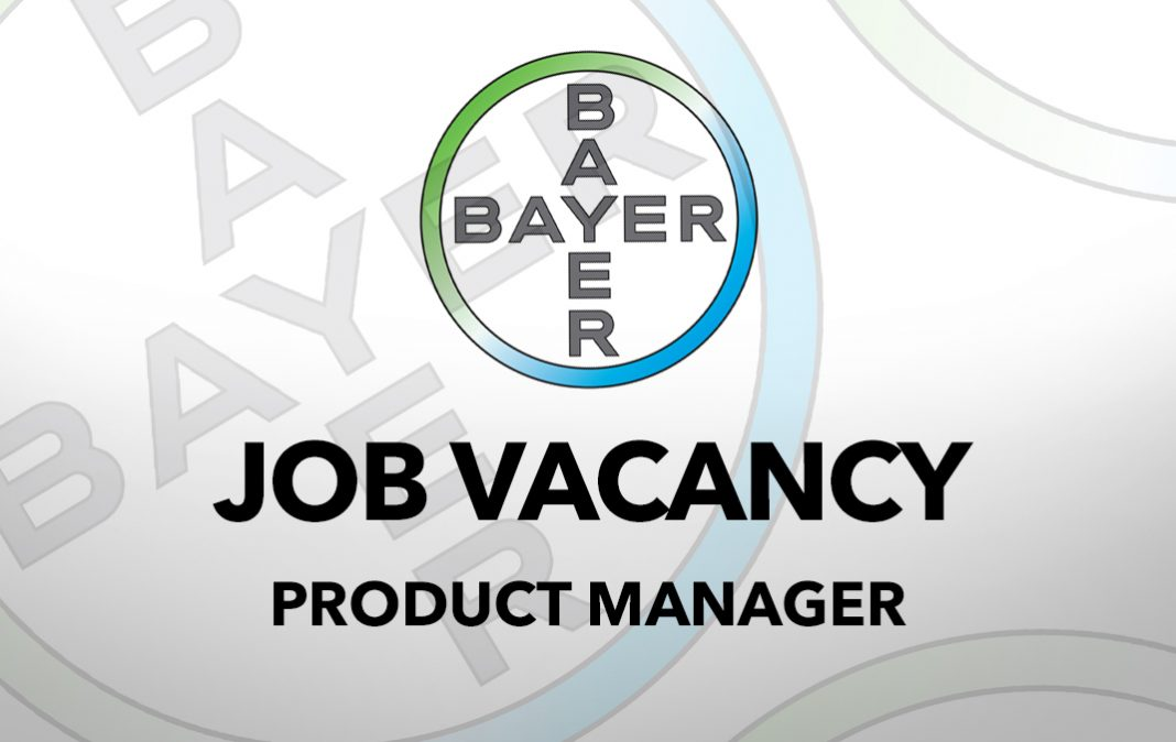 Job Vacancy: Product Manager