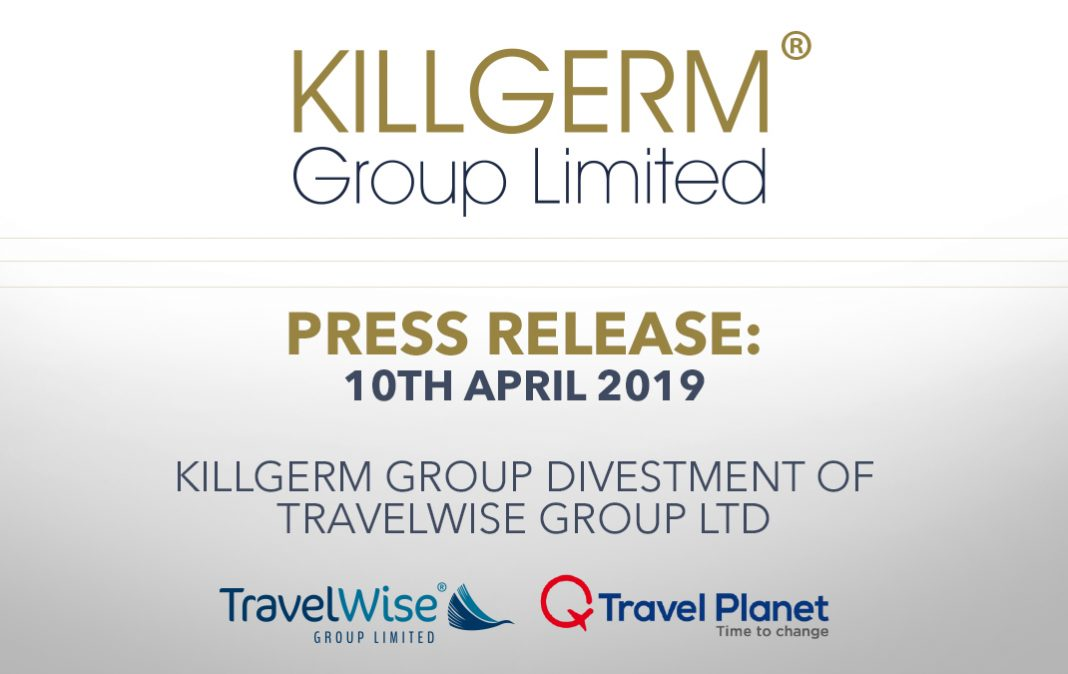 Killgerm Group Divestment of Travelwise Group Ltd