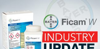 A NEW AGE FOR INSECTICIDES, AS FICAM® W IS TO BE WITHDRAWN